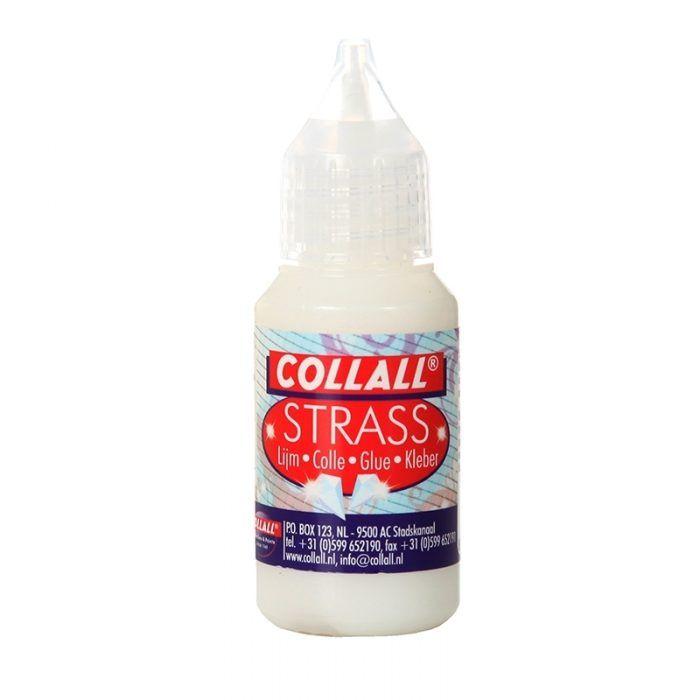 Collall Strass Lijm Melkwit 25ml