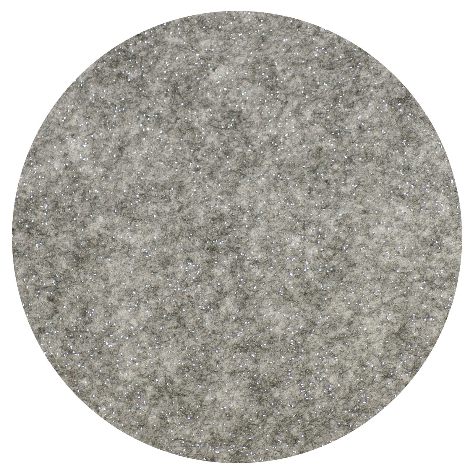 Glittervilt 20x30cm Zilver-004