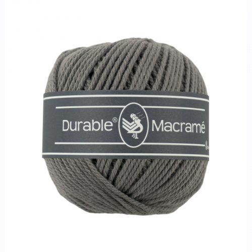 Durable Macrame 100gr Asgrijs-2235