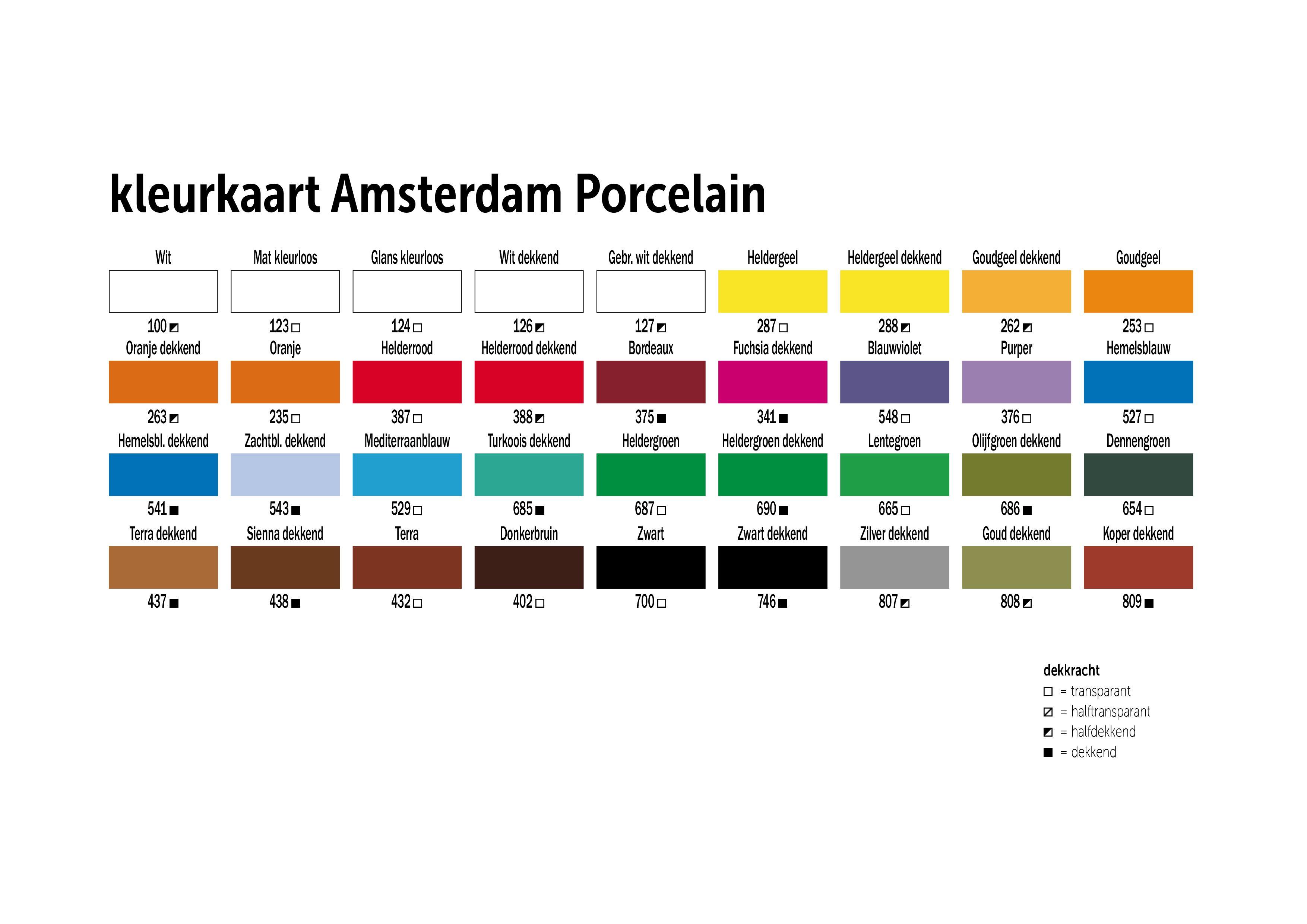 Deco Porselein 16ml Gl.Kleurloos-124