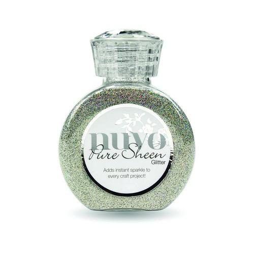 Nuvo Pure Fijne Glitter Zilver AB 100ml