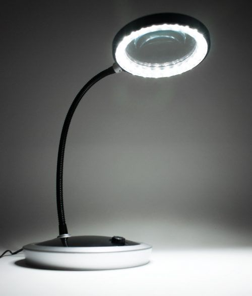 PURElite Magnifying Table Lamp