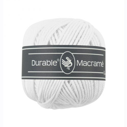 Durable Macrame 100gr Wit-310