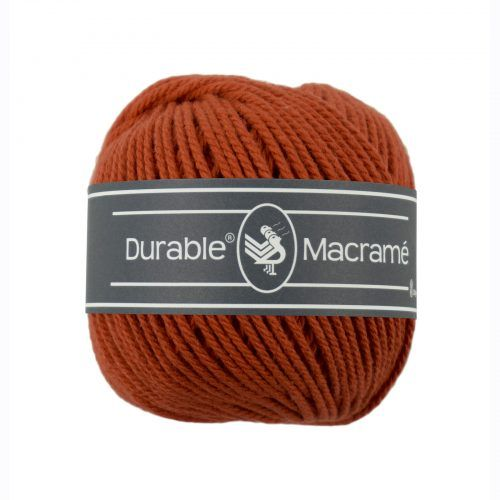 Durable Macrame 100gr Steenrood-2239