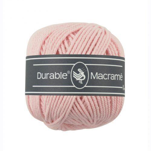Durable Macrame 100gr Licht Rose-203