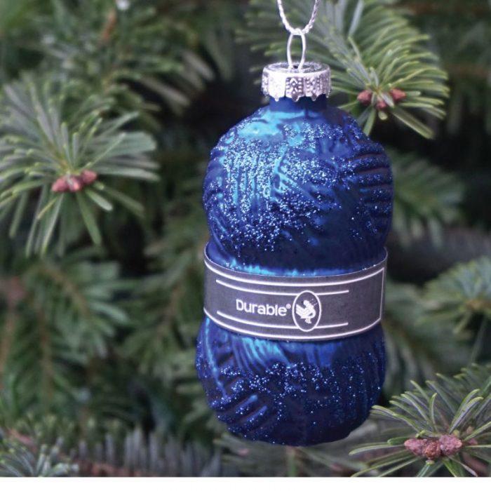 Durable Kerstballen Bol Wol 3st