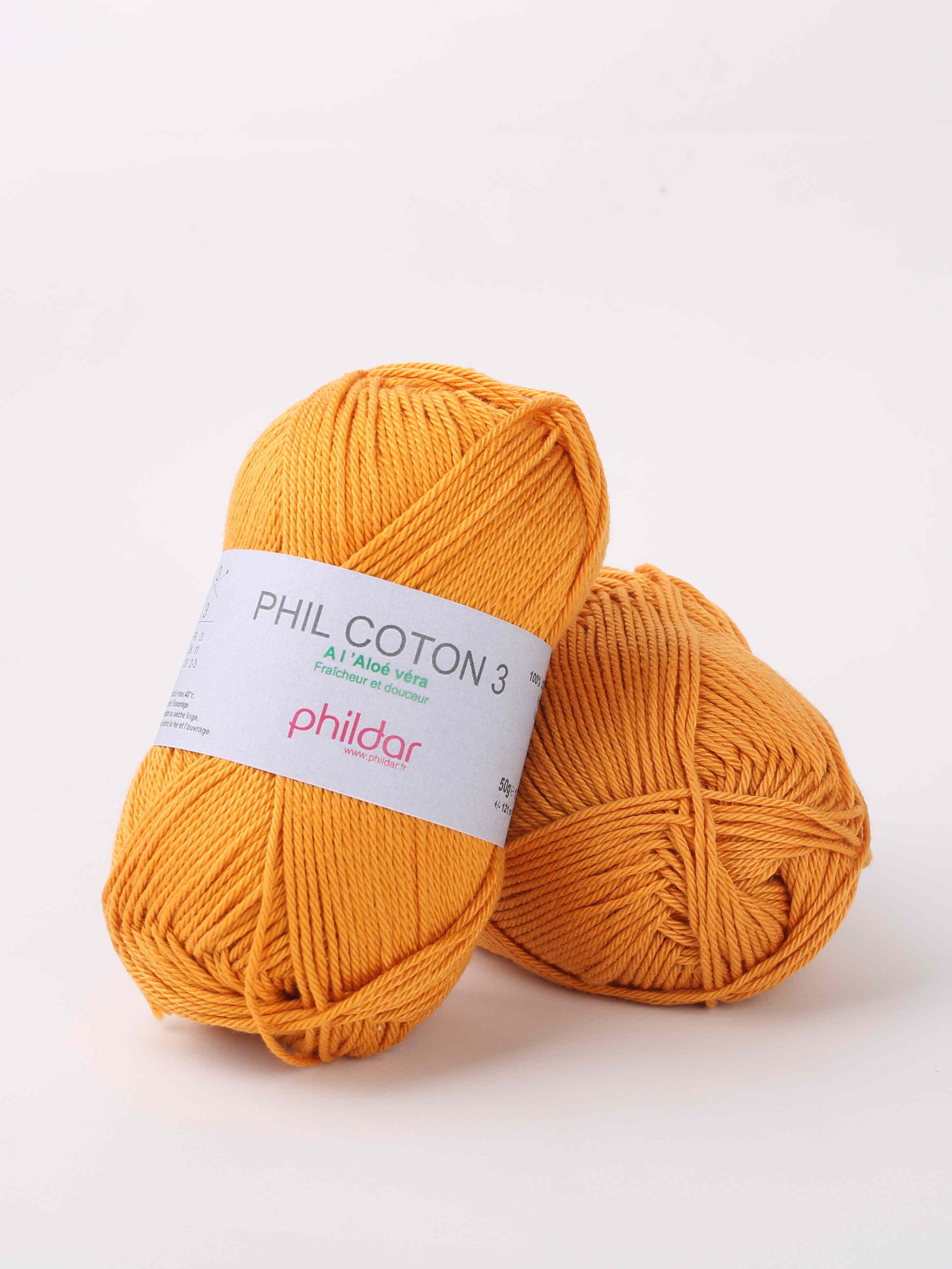Wol;Phil Coton 3 Safran