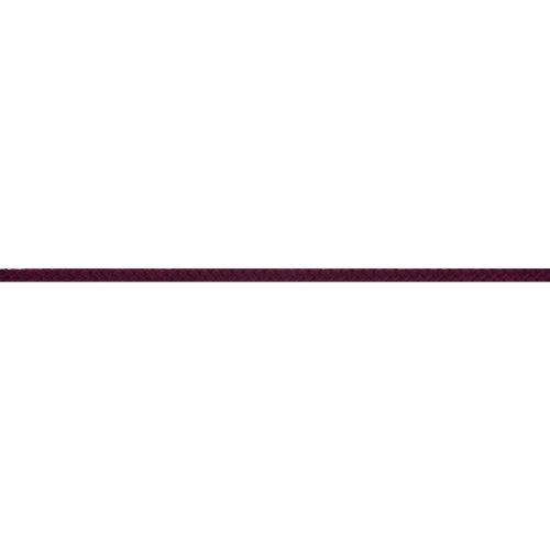 Gevlochten Koord Rond 5mm Aubergine-763
