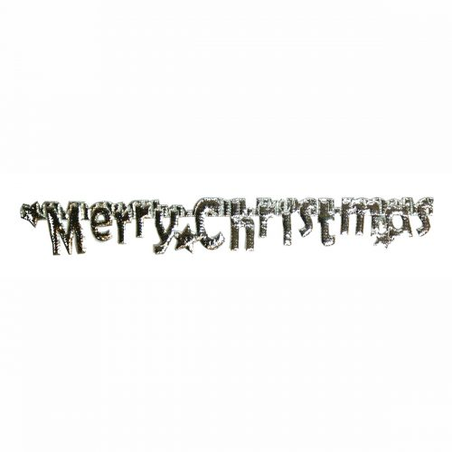 REStyle Band Merry Christmas 20mm Zilver