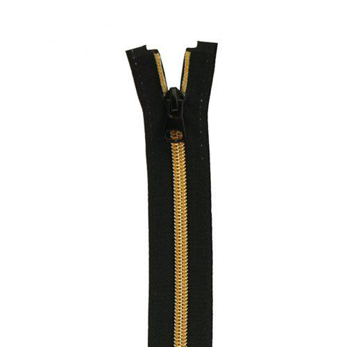 Spiraal Rits S70 Zwart/Roségoud-065