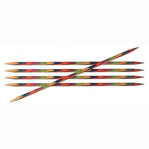 5st KnitPro Sokkennaalden Bamboe 4mm