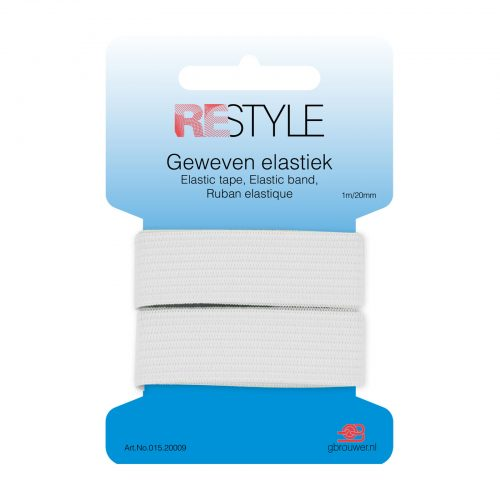 REStyle Elastiek 20mm 1m Wit-009