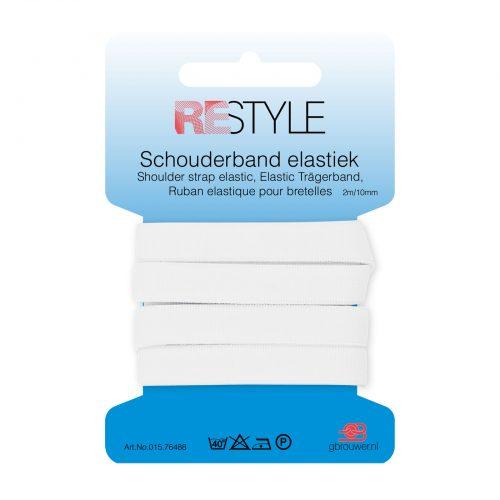 REStyle Sport Elastiek 10mm 2m Wit-009