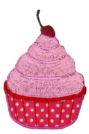 Appli;Cupcake Licht Rose