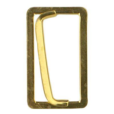 2st Riemela Gesp Schuifbaar 40mm Goud