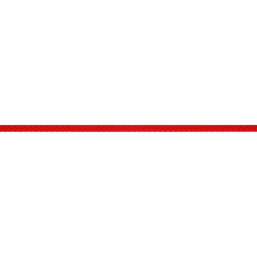 Gevlochten Koord Rond 5mm Rood-722
