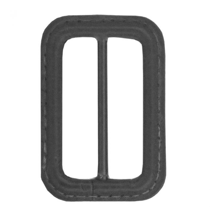 Gesp Leer 50mm Donker Grijs-002