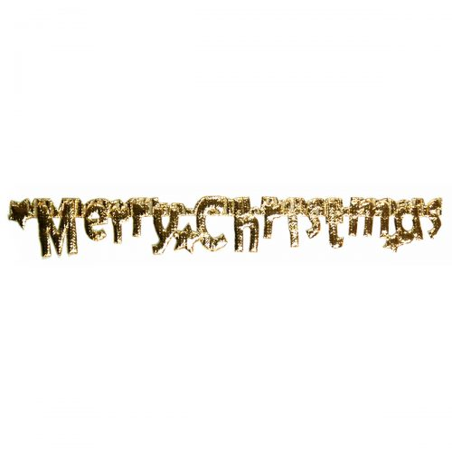REStyle Band Merry Christmas 20mm Goud