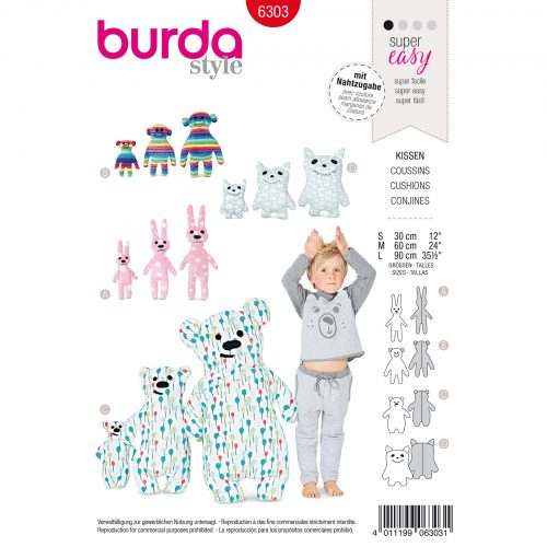 Burda Rood 6303