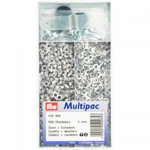 Prym 500st Nestels Zilver 4mm