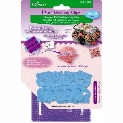 Clover Puff Quilting Clip Small