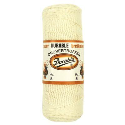 Durable Breikatoen No.8 Creme 100gram