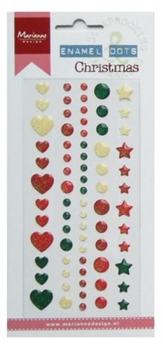 Plakkers Enamel Dots Christmas