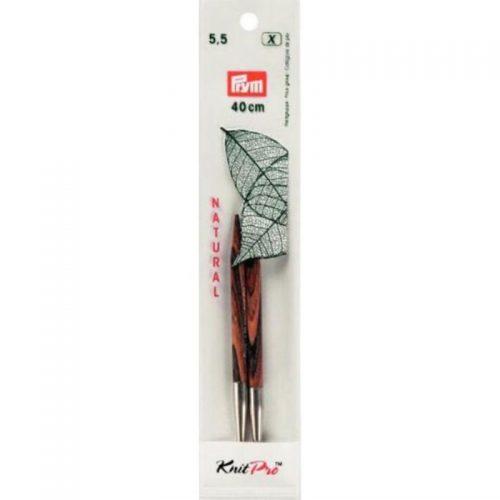 KnitPro/Prym T;Naaldpunten Kort 5.5mm