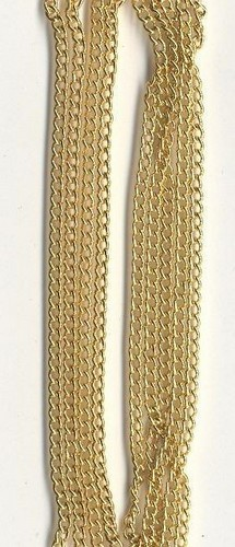Metalen Ketting Fijn Goud 1.9mm 1m