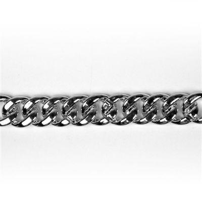 Schakel Zilver Middel 20mm