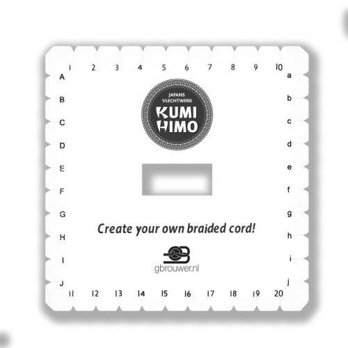 Kumihimo Disc Vierkant 14x14cm