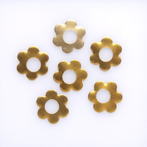 Nailheads Flower 10mm Gold