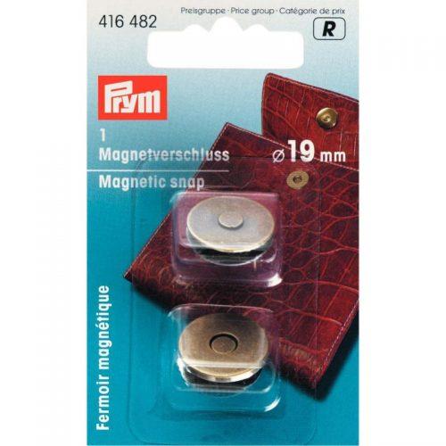 Prym R;Magneetsluiting Brons 19mm