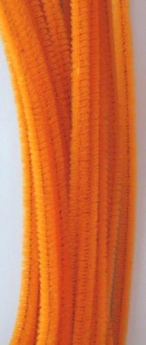 20st Chenille 6mmx30cm Oranje