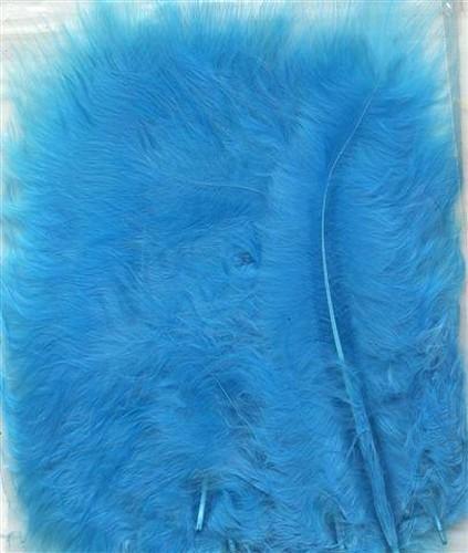 Marabou Veertjes Turquoise 15st