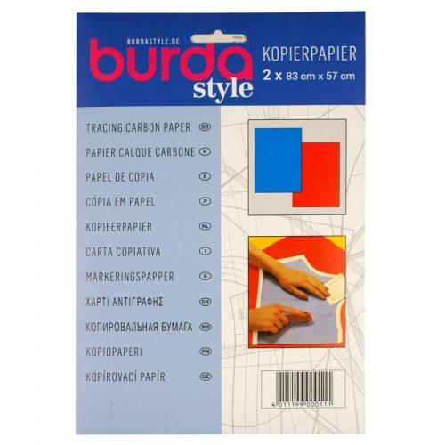 Kopierpapier Burda Rood/Blauw