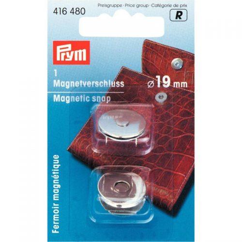 Prym R;Magneetsluiting Zilver 19mm