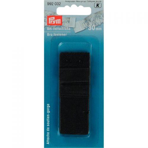 Prym K;BH Sluiting Zwart 30mm