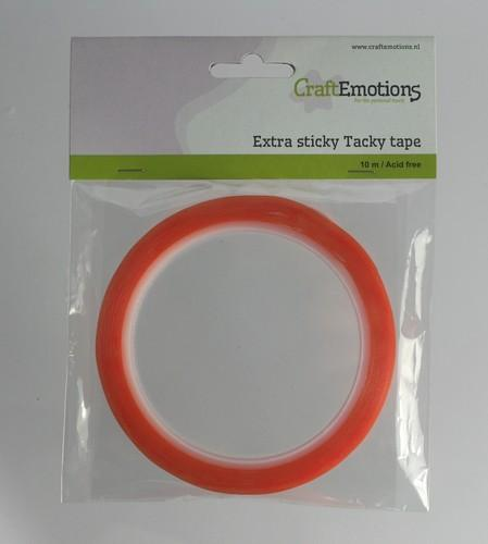 Extra Sticky Tape 9mm 10m Dubbelzijdig