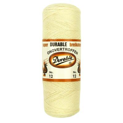 Durable Breikatoen No.12 Creme 100gram