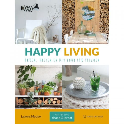 Boek;Happy Living Haken en Breien