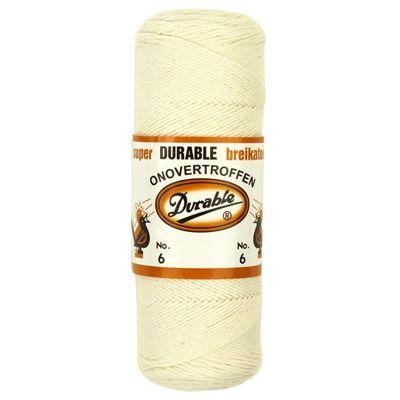 Durable Breikatoen No.6 Creme 100gram