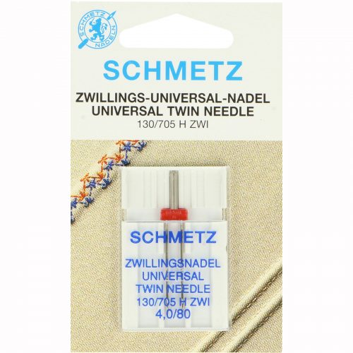 Schmetz Machine Naalden Twin 4mm 80