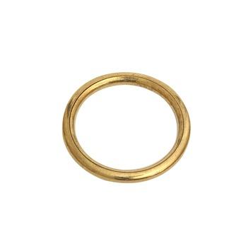 10st Gordijnring Goud 18x23mm