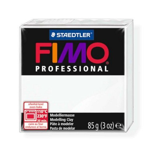 Fimo Professional Klei Wit 85gr