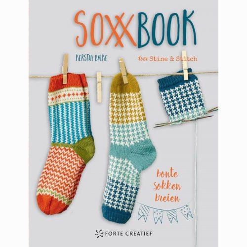 Boek;SoxxBook (Bonte Sokken Breien)