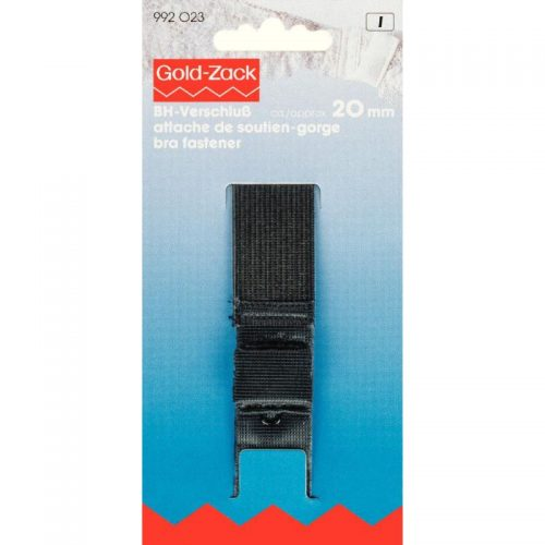 GoldZack I;BH Sluiting Zwart 20mm