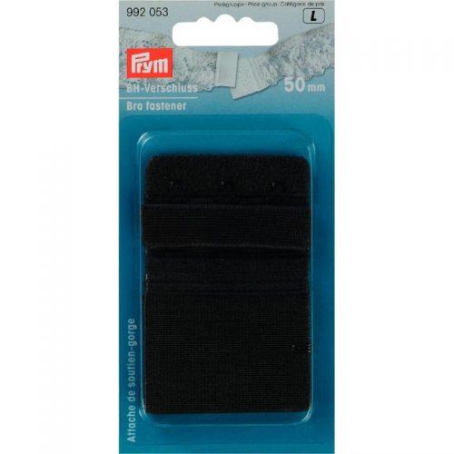 Prym L;BH Sluiting Zwart 50mm