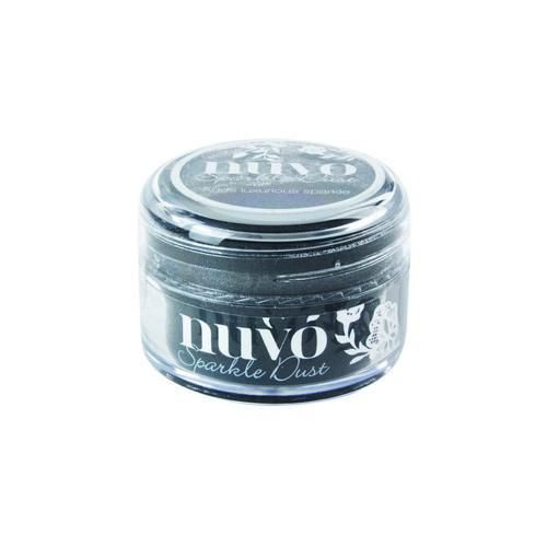 Nuvo Sparkle Dust Glitter Zwart 15ml