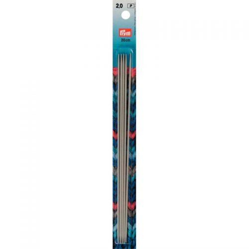 Prym P;5st Kousen Breinaalden 2mm 20cm